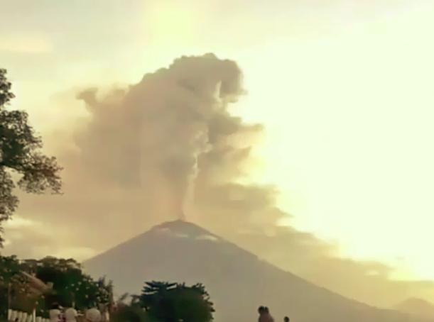 バリの火山噴火いつまで続くのか?