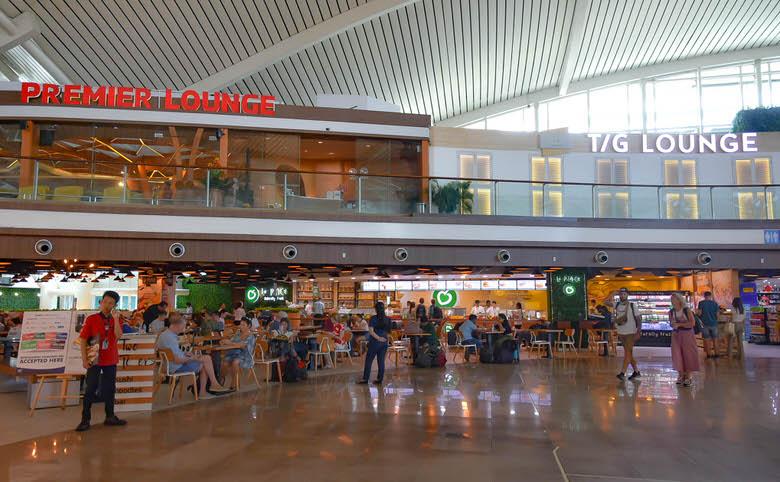 バリ島デンパサール空港のレストラン事情 チェックイン後