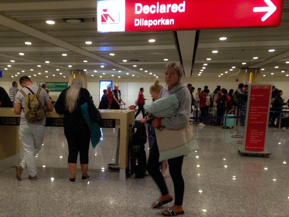 インドネシアは税関が厳しい【バリ空港手荷物検査注意点まとめ】