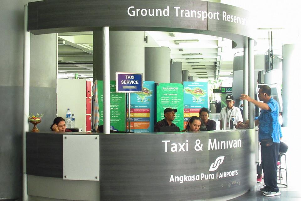 デンパサール空港タクシー2019年料金表